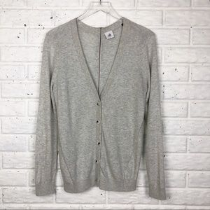 CABI Coblestone back zip cardigan #5014